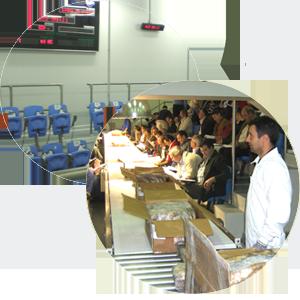 Sala para subastas automatizadas